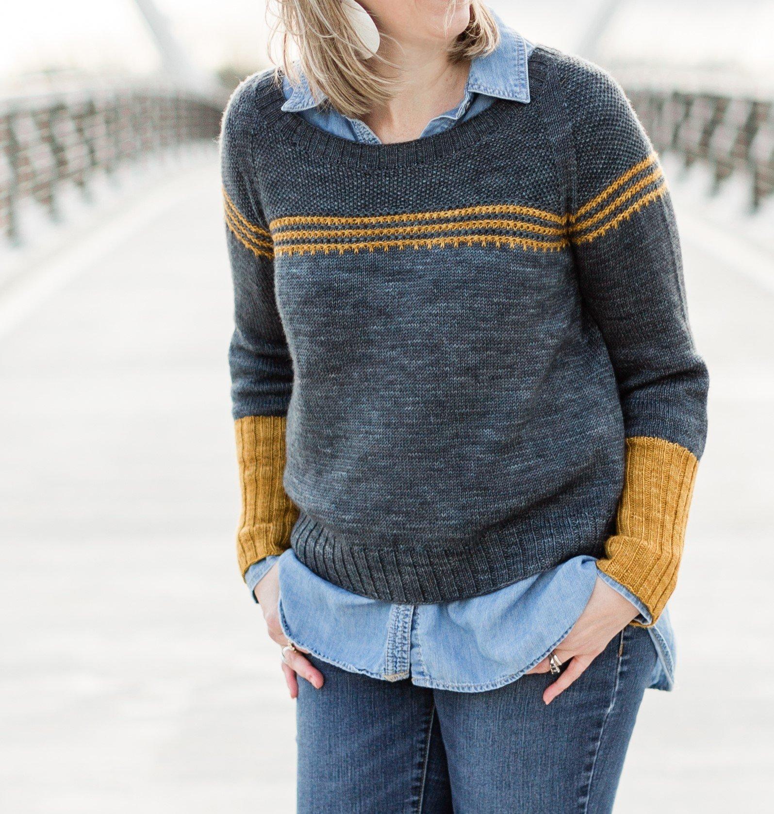 Petra sweater by Marie Greene